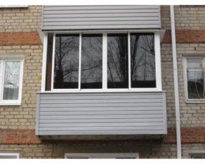Наружная отделка балконов в Серпухове