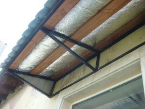 Противошумный карниз на балкон или лоджию