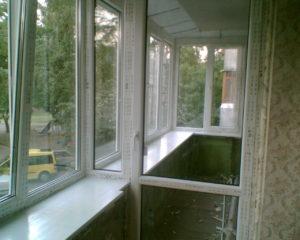 Холодное остекление балконов и лоджий в Серпухове
