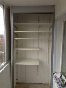 Шкаф на балкон в Серпухове быстро и недорого